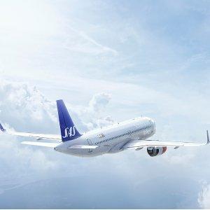 往返$282起  11月--明年6月日期SAS北欧航空 美国往返欧洲机票大促