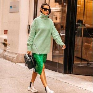 低至4折 多色羊绒针织 $161起Tibi 极简风时尚美衣热卖,法式名媛爱牌