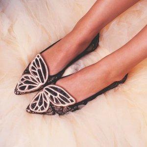低至3折 经典蝴蝶结款$171补货:Sophia Webster 美鞋促销