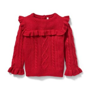 Janie and JackCable Knit Sweater