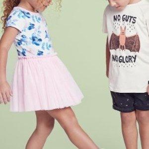 低至7.5折 时尚从娃娃抓起David Jones 精选婴幼儿、儿童可爱服饰促销