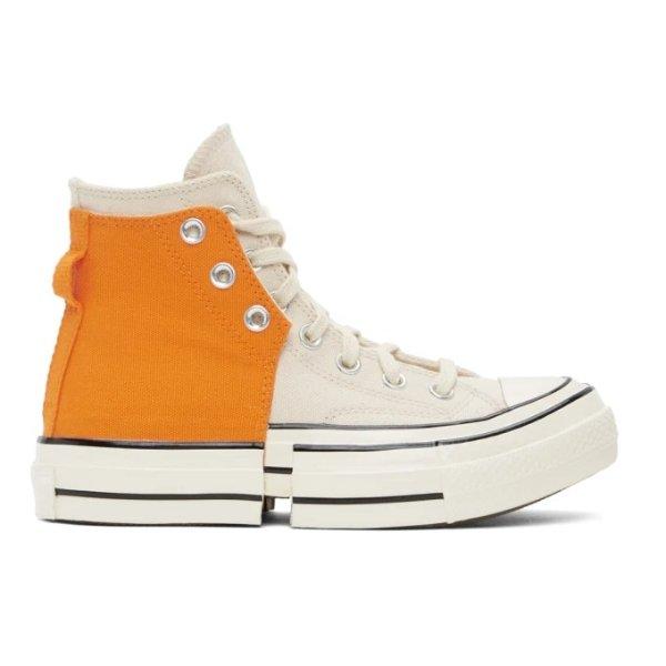 合作款高帮运动鞋