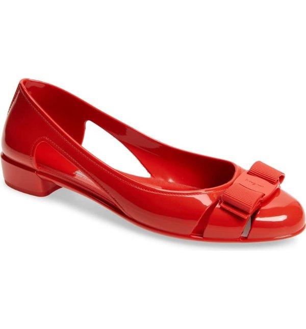 Jelly芭蕾平底鞋
