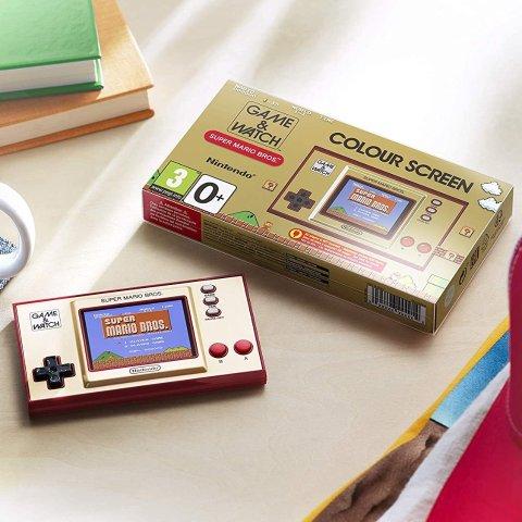 7.7折仅€44.99 限量发售史低价:Nintendo Game & Watch 特别版游戏机补货 重温经典