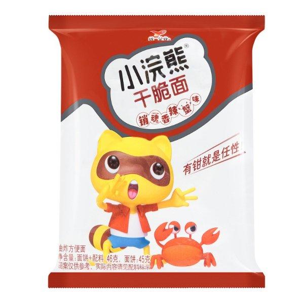 统一 小浣熊干脆面 销魂香辣蟹味 46g