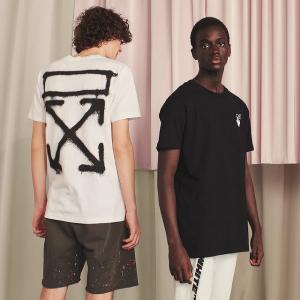 3折起 £125收箭头T恤Off-White 全场折扣再破低价 超全箭头T恤、围巾、外套等