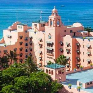 近期好价 5星级夏威夷皇家酒店 百年历史 超嗲粉色地标建筑