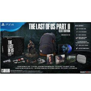 艾莉版 $229.99 预售开始《最后生还者2》标准版 / 特别版 / 艾莉版 PS4 实体版