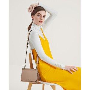 Triangular Boxy Shoulder Bag