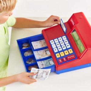 $18.96(原价$46.99)史低价:Learning Resources 加拿大版 儿童玩具收银机
