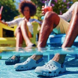 5折+最高额外立减$20Crocs 官网上百件时尚洞洞鞋 优惠特卖