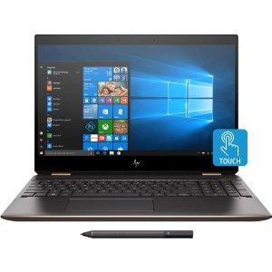 HP Spectre X360 15t (4K OLED, i7-9750H, GTX1650, 16G, 256G)