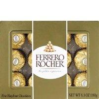 Ferrero Rocher 榛仁巧克力球 12颗装