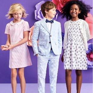 低至3折+额外8.5折Brooks Brothers 儿童气质款服饰 大牌平替风衣$76+