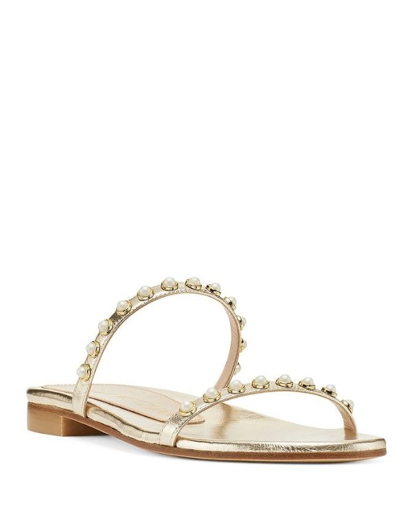Women's Ameliese Synthetic 珍珠凉鞋