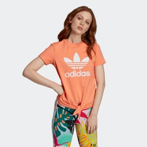 AdidasKnotted Trefoil Tee