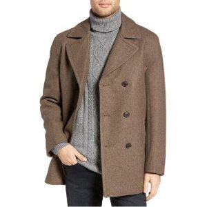 $99.90Michael Kors男士双排扣羊毛混纺外套