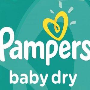 低至6折 €34.91 原价€ 50.99Prime Day 狂欢价:Pampers 帮宝适  宝宝纸尿裤、婴儿湿巾等  畅销榜第一品牌