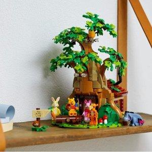 Lego4月1日上市,VIP于3/18提前购小熊 Winnie 21326   Ideas系列
