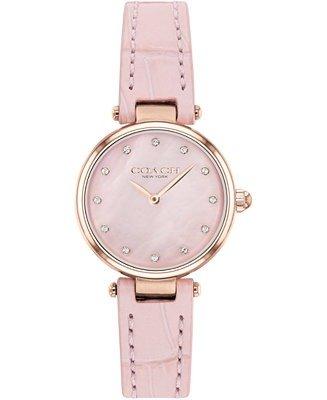 樱花粉女士腕表
