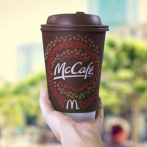 仅限9月29日(周六)限今天:McDonald's 麦当劳请你免费喝咖啡