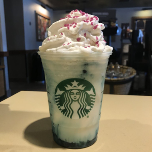 New Product ReleasedStarbucks 2018 Limited Crystal Ball Frappuccino