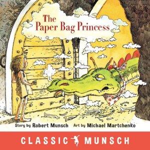 买二免一 畅销Robert Munsch 纸袋公主