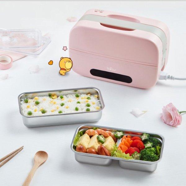 智能电热饭盒 预约定时 可插电加热保温