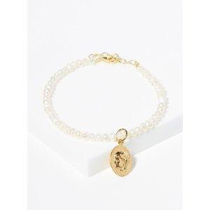 满$175立减$25hermina Ygeia 珍珠手链