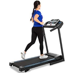 $319XTERRA Fitness TR150 Folding Treadmill Black