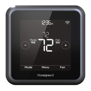 Honeywell RCHT8612WF T5 Plus Wi-Fi Touchscreen Smart Thermostat with Power Adapter