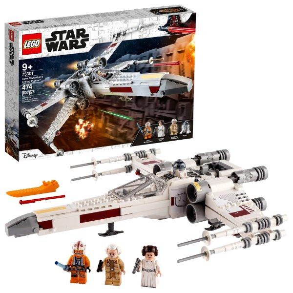 星战 Luke Skywalker的X翼战机 75301