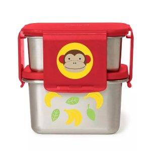skiphop小童不锈钢饭盒