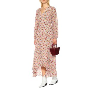 GanniExclusive to Mytheresa – floral georgette wrap dress