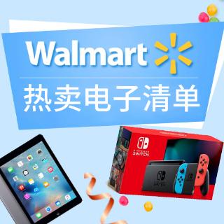 新Switch入门套$329, AirPods 2 $144Walmart 热卖电子清单, 假日版上线, iPad 128GB $299收