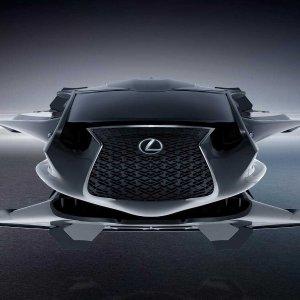 MIB专属 能飞能跑 支持Alexa雷克萨斯最新黑科技 首款Lexus QZ 618 银河执法车