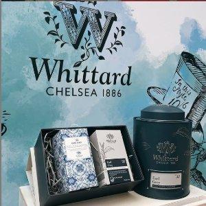 满£40享8.5折Whittard 热门礼盒、Hamper 热促 一次尝遍明星口味