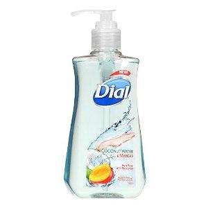$0.99白菜价:Dial 抗菌滋润洗手液 椰子芒果香味