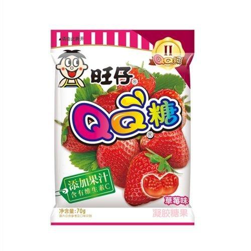 旺旺QQ糖 草莓味70g