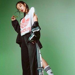 低至5折+额外8折Adidas官网 11.11闪促 收运动服饰、爆款潮鞋