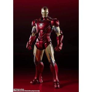 $90上新:TAMASHII NATIONS 钢铁侠 Mark 6 -<纽约之战> Edition Avengers