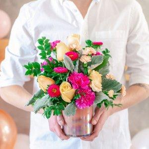 无门槛7.9折即将截止:Teleflora Flowers 七夕鲜花预定服务促销, 可当日送达