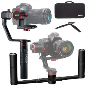 $259 + $25 Buydig Gift CardFeiyu A2000 3-Axis Gimbal & 2-Hand Holder Kit