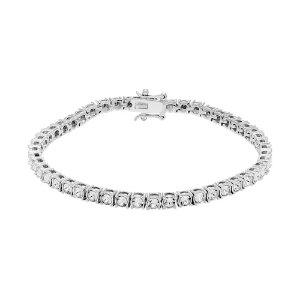 Coming Soon: $69.99 + $15 Kohl's Cash Diamond Splendor Sterling Silver Crystal Tennis Bracelet