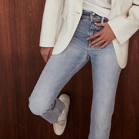 低至2折+额外8.5折 £51收牛仔裤上新:FRAME 全场热卖 最舒服牛仔裤等你来 谁穿谁显瘦 显腿长