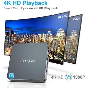 $237.99(原价$279.99)Terryza SSD英特尔Celeron N3350迷你台式计算机