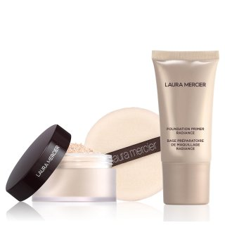 现价€29.21(原价€37.45)Laura Mercier 蜜粉和妆前乳套装 7.8折特价 需用码
