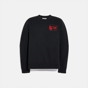 Coach米老鼠 X Keith Haring 卫衣