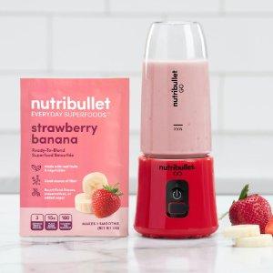 NutribulletGo and Ready-To-Blend Smoothie Bundle