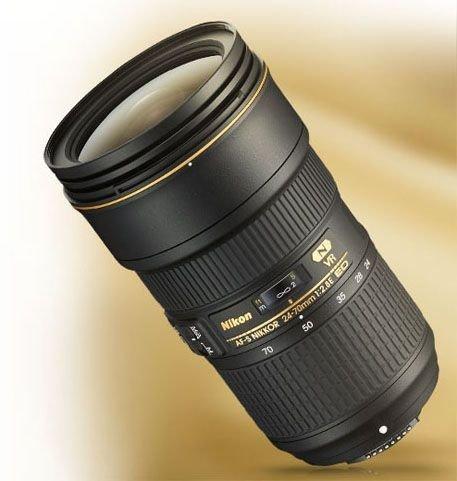 Nikon AF-S NIKKOR 24-70mm f/2.8E ED VR 镜头